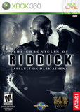 The Chronicles Of Riddick Assault On Dark Athena Xbox 360 Game Off the Charts