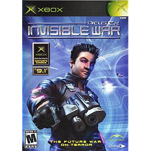 Deus Ex Invisible War Xbox Game Off the Charts