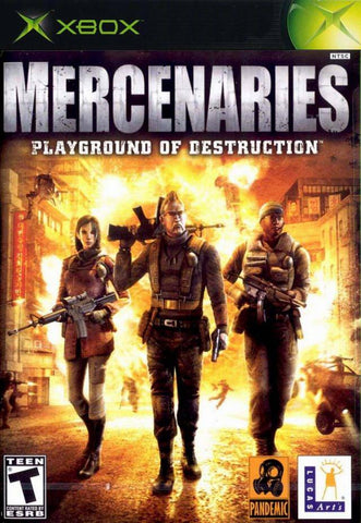 Mercenaries Playground Of Destruction - Off the Charts Video Games