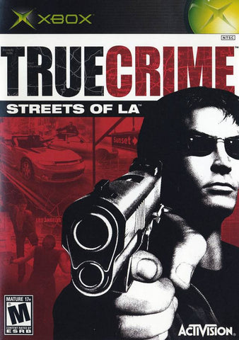 True Crimes Streets Of LA Xbox Game Off the Charts