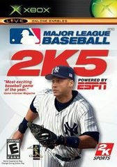 MLB 2K5 Xbox Game Off the Charts