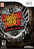 Guitar Hero: Warriors of Rock Wii Game Off the Charts