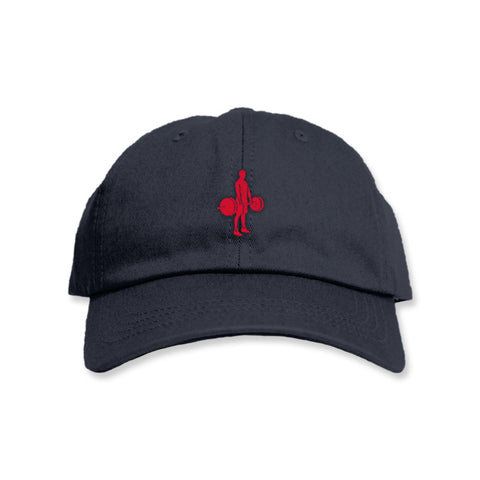 Lifter - Polo Navy w/ Red Hat