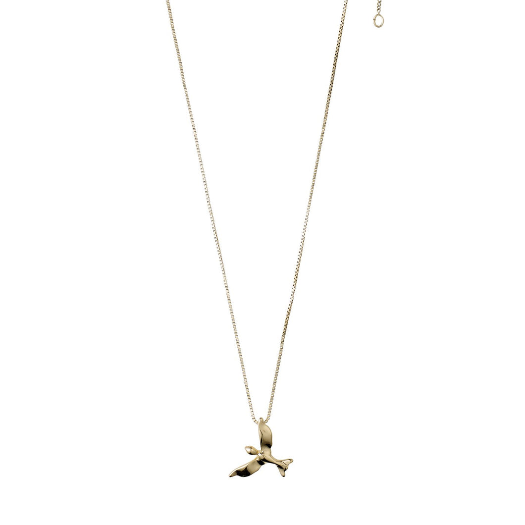 Air Necklace - Gold