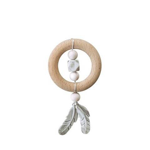 Dreamcatcher Silicone + Wood Teether
