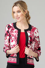 Load image into Gallery viewer, Paisley Jacket by Joseph Ribkoff