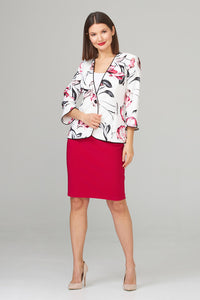 Floral Jacket by Joseph Ribkoff