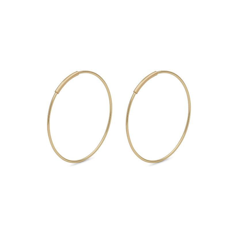 Raquel 26mm Earrings - Gold