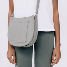 Load image into Gallery viewer, Vegan Suede Saddle Crossbody - Rosemary