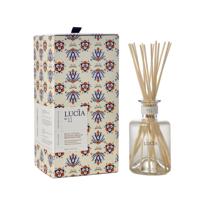 Blue Lotus & Sicilian Orange Reed Diffuser