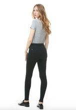 Load image into Gallery viewer, Pitch Black Rachel Skinny Jean