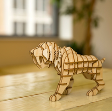 Load image into Gallery viewer, Sabertooth Tiger 3D Puzzle