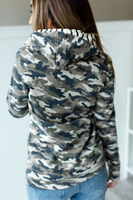 Load image into Gallery viewer, Camo Doublehood Sweatshirt