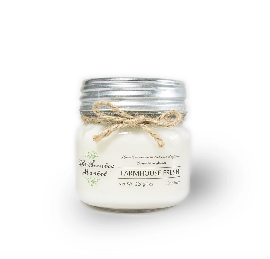Farmhouse Fresh Candle