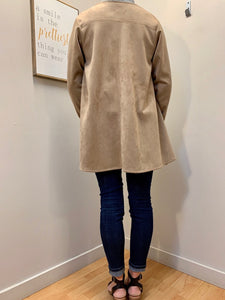 Kelly Lou Jacket - Faux Suede