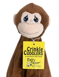 Monkey Crinkle Buddy