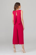 Load image into Gallery viewer, Cerise Jumpsuit by Joseph Ribkoff