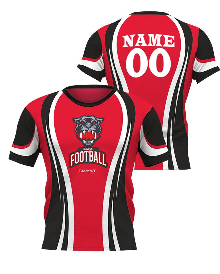 Football Team Red Jersey