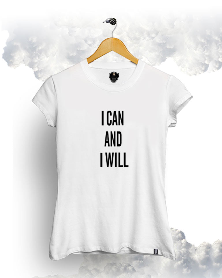 I Can And Female Tee