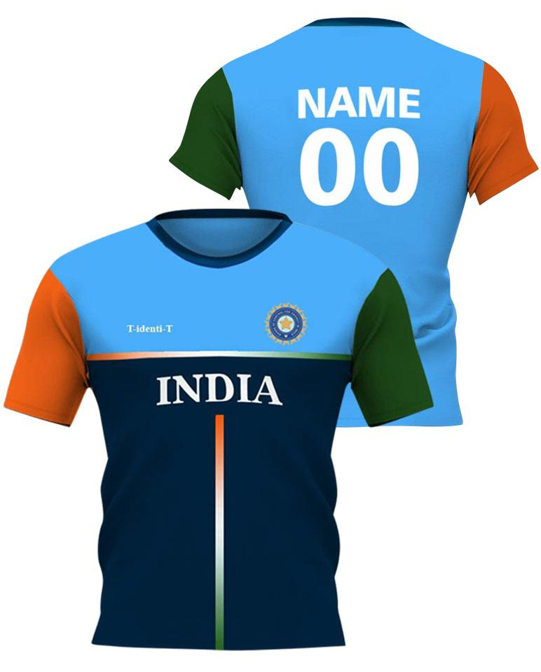 Cricket Team India Jersey - Roundneck Clothing