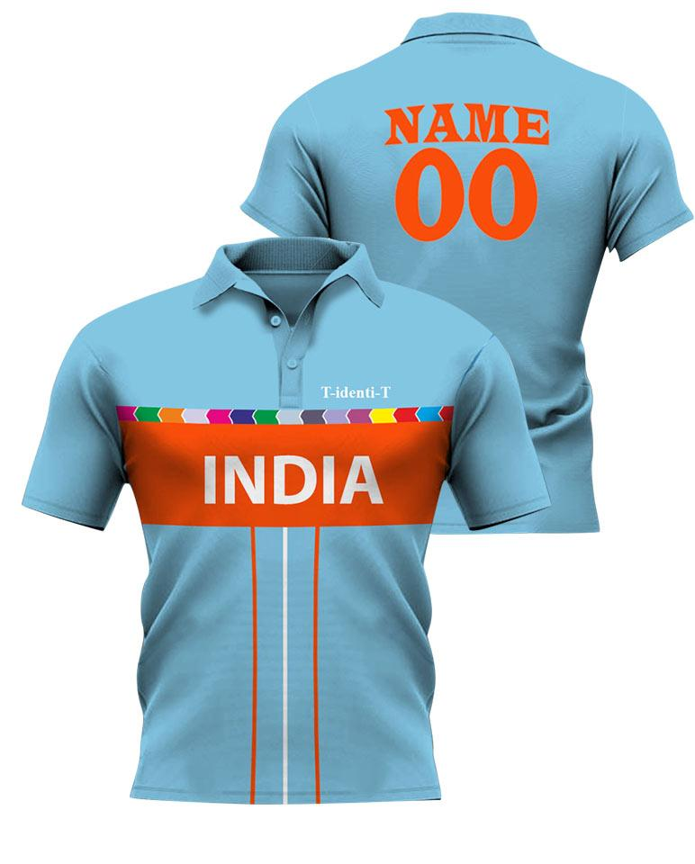 Polo Cricket Team Aqua Jersey