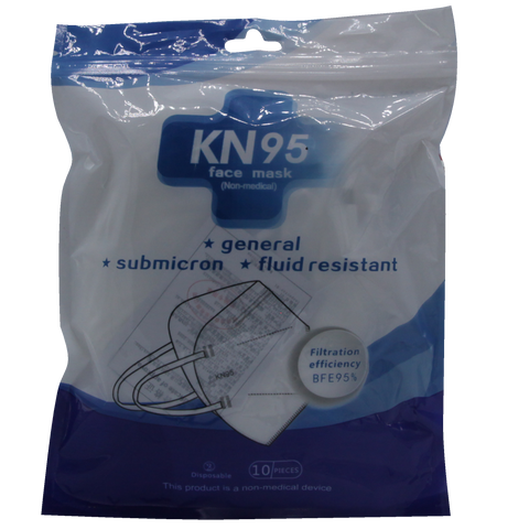 KN95N10	Professional Protective Mask in Nylon Bag 10 PCS