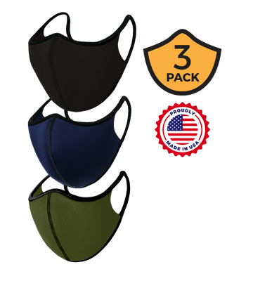 Basic Training Masks 3 Pack