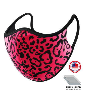 Hot Pink Jaguar Mask