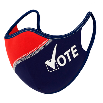 Rock the Vote! Face Mask
