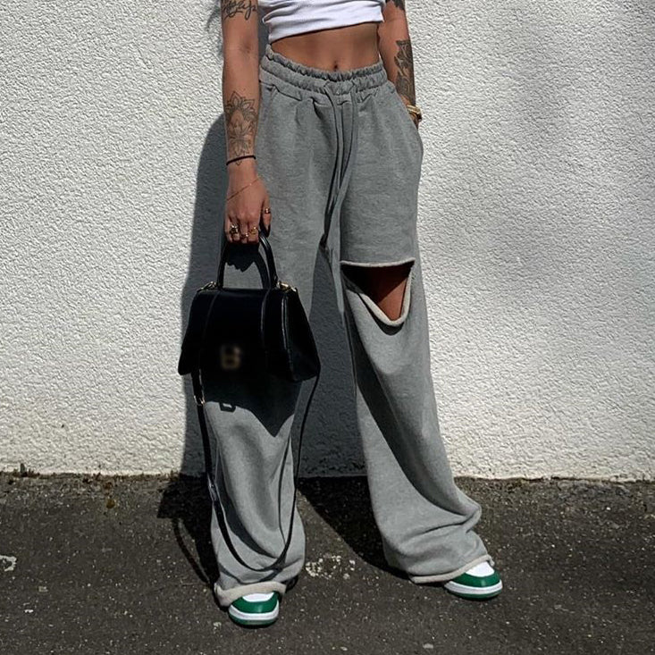 Womens Casual Baggy Pants