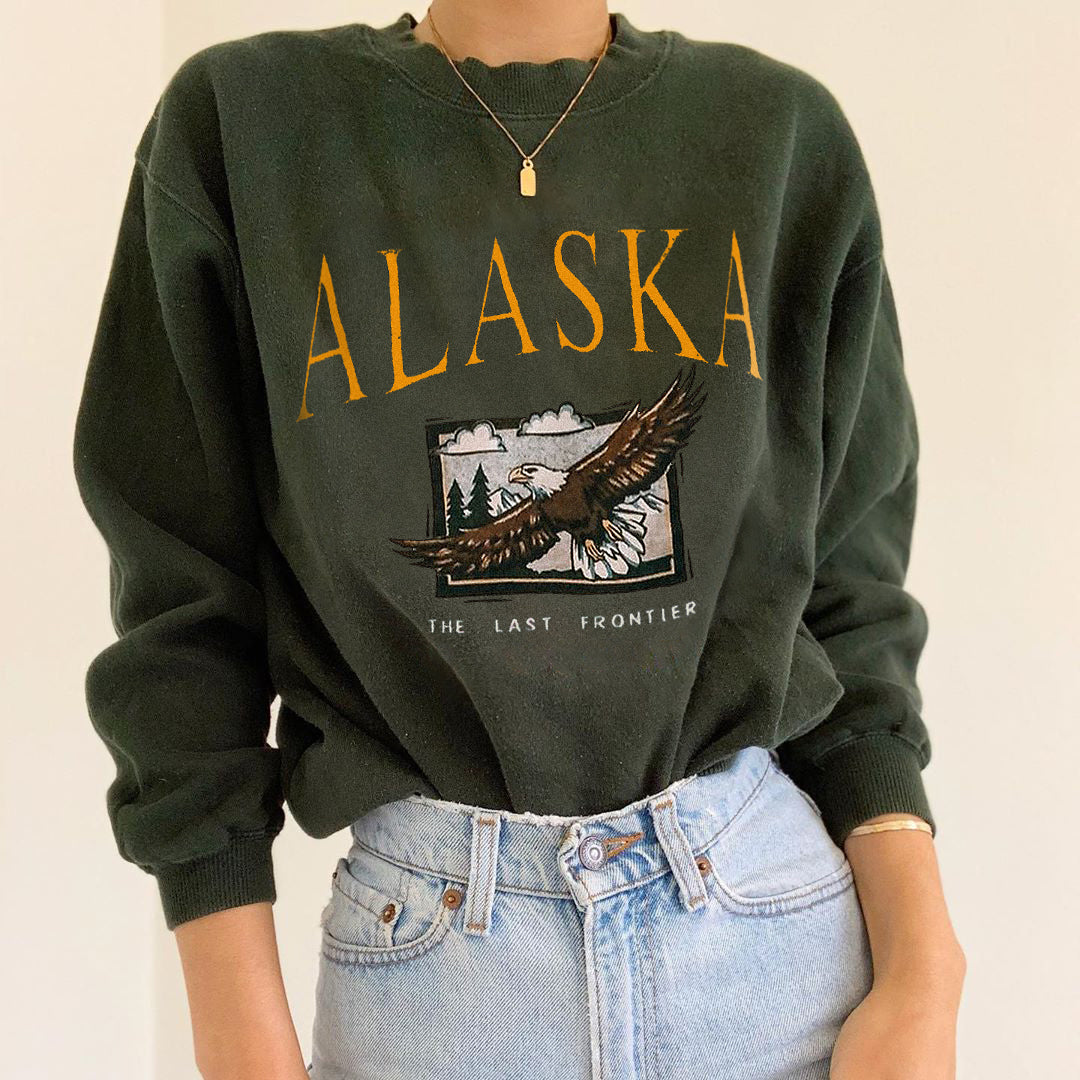 Long Sleeve Casual Basic Sweatshirt