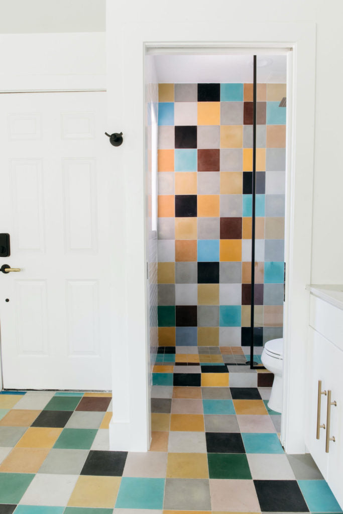 Colorful Guesthouse Tile l Domino Magagine