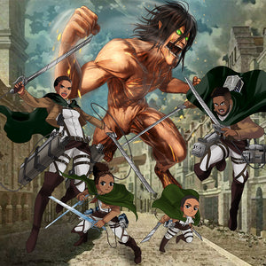 Custom Attack On Titan Art