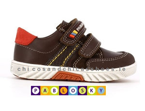 PABLOSKY BOYS CASUAL SHOE-063192-TOM CAT NUT