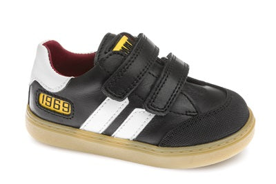 PABLOSKY BOYS CASUAL SHOES-090010-BLACK/WHITE