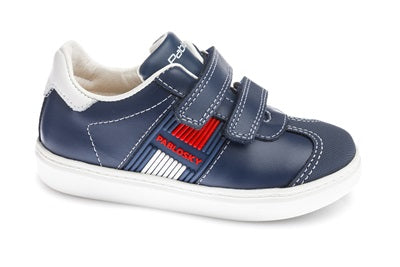 PABLOSKY BOYS CASUAL SHOE-283122-BLUE/RED