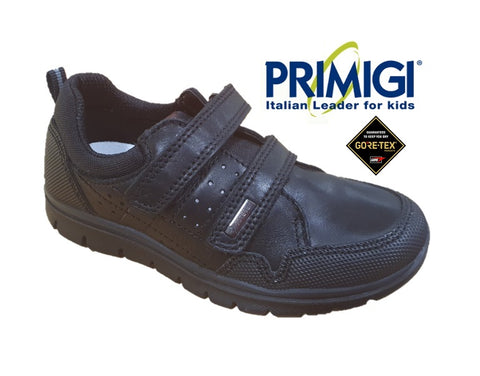 PRIMIGI-WATERPROOF GORETEX SCHOOL SHOES-6395600-BLACK