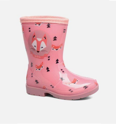 BE ONLY-GIRLS WELLIES-WARM LINED-ANOUK-ROSE