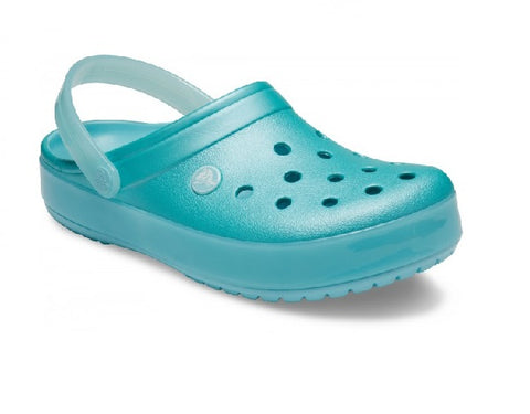 CROCS GIRLS-CROCBAND-ICE POP ICE BLUE