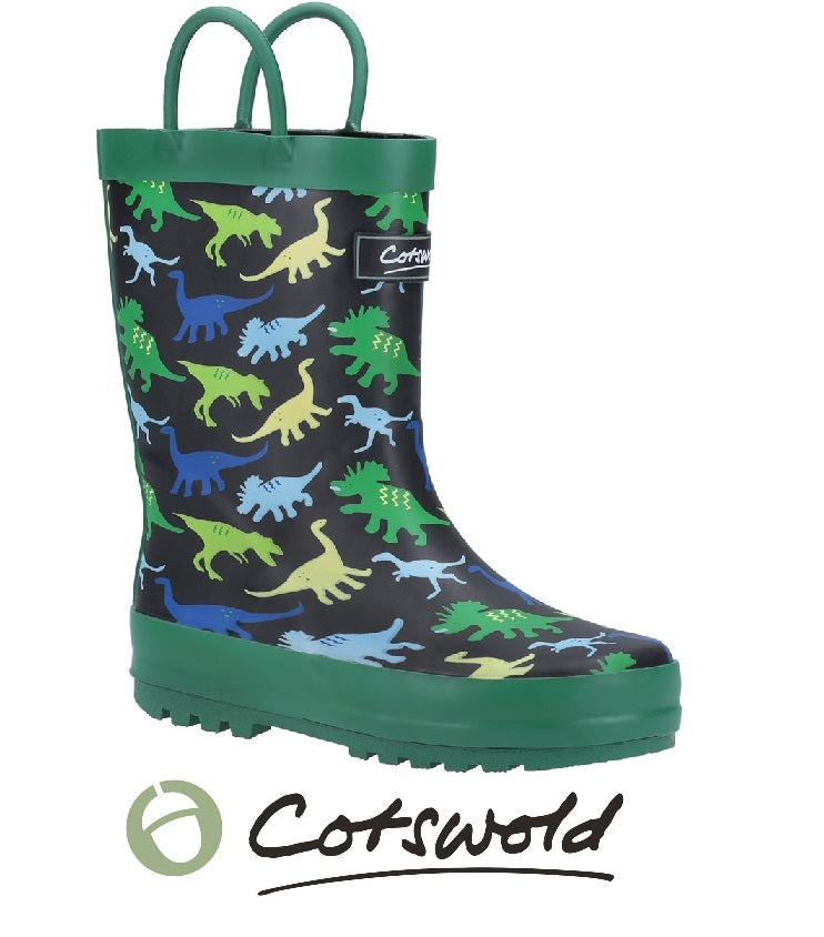 COTSWOLD BOYS WELLIES-DINOSAUR