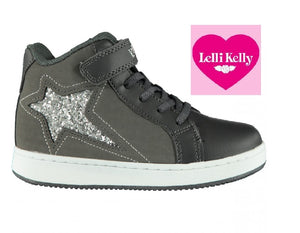 LELLI KELLY ANKLE BOOTS-LK6824-GREY