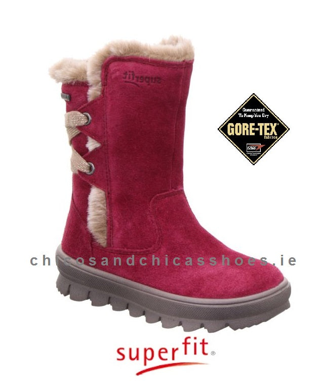 SUPERFIT GIRLS WATERPROOF BOOT-FLAVIA-1/009216/5000-CHERRY