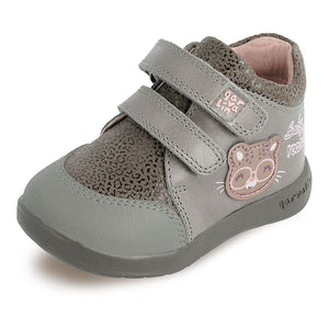 GARVALIN GIRLS SHOES-201327B-GREY