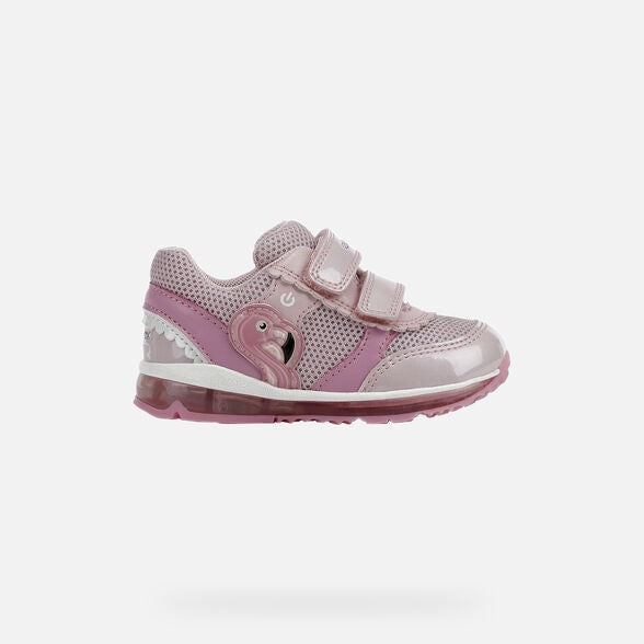 GEOX GIRLS RUNNERS-B TODO-PINK