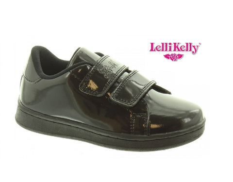 LELLY KELLY-LK8382-SCHOOL SHOES- CAMILLA-BLACK PATENT