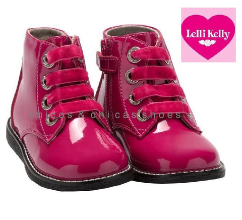 LELLY KELLY-LK3310-CAMILLE-FUXIA PATENT
