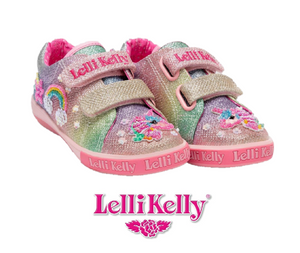 LELLI KELLY CANVAS-LK7077- TREASURE-MULTI GLITTER