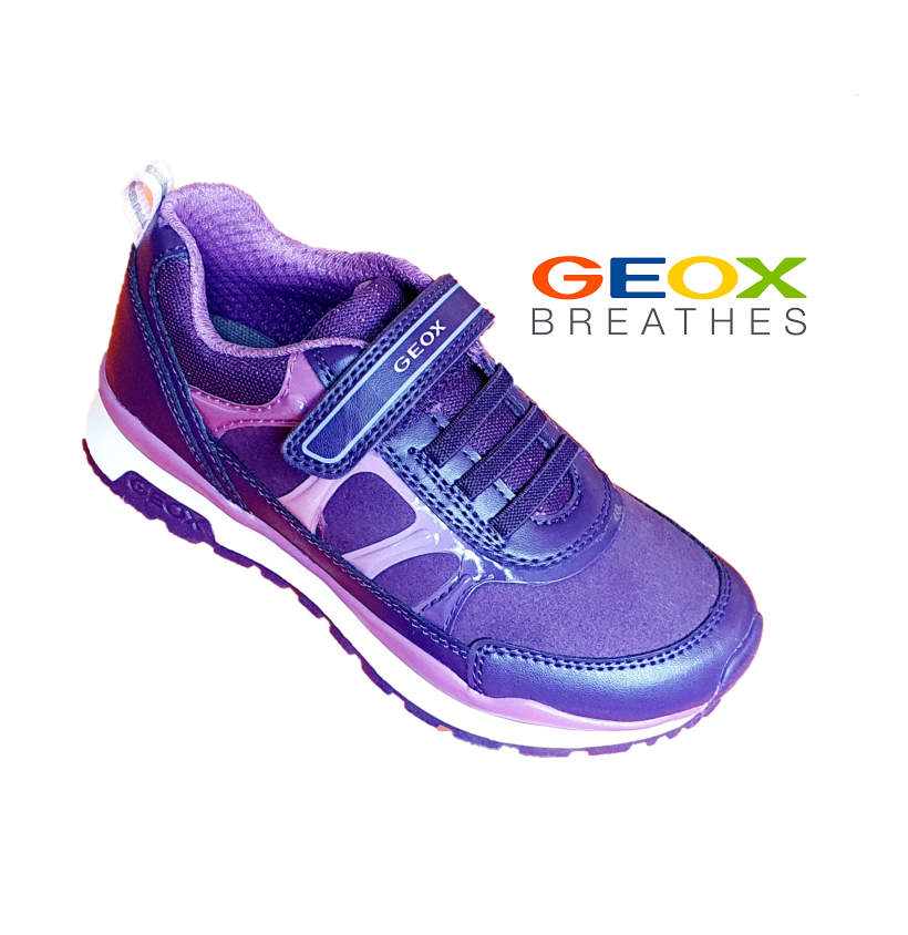 GEOX-GIRLS SNEAKERS-J PAVEL GIRL-VIOLET/PURPLE