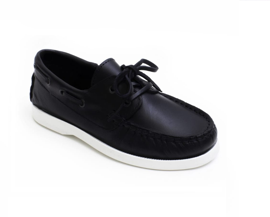 PETASIL-SAIL DECK SHOES-NAVY