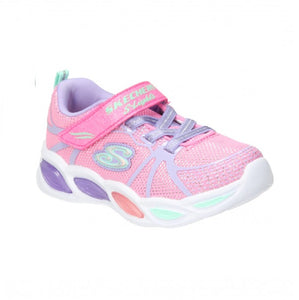 SKECHERS TODDLER GIRLS-SPORTY GLOW-302042N/PKMT